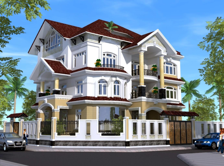 Mẫu thiết kế kiến trúc biệt thự đẹp