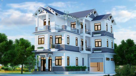 Hỏi giá thiết kế thi công biệt thự nhà vườn đẹp?