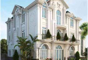 Mẫu thiết kế biệt thự cổ điển 3 tầng đẹp