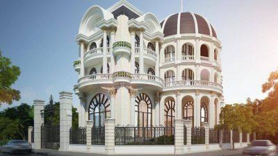 Nên chọn biệt thự cổ điển 3 tầng hay 2 tầng?
